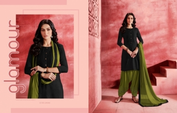 KAJREE ESTEEM BY PATIYALA RAYON DESIGNER EMBROIDERY SALWAR SUITS (13) JPG