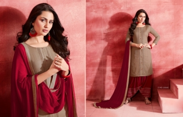 KAJREE ESTEEM BY PATIYALA RAYON DESIGNER EMBROIDERY SALWAR SUITS (5) JPG