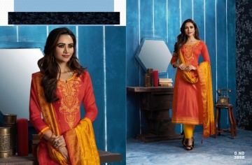 KESSI FABRICS ASOPALAV VOL-05 JAM SILK COTTON SALWAR SUITS WHOLESALE PRICE(16)JPG