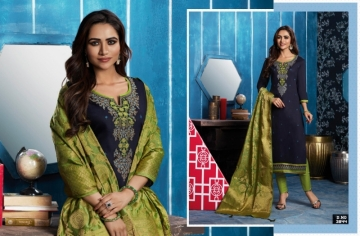 KESSI FABRICS ASOPALAV VOL-05 JAM SILK COTTON SALWAR SUITS WHOLESALE PRICE(5)JPG