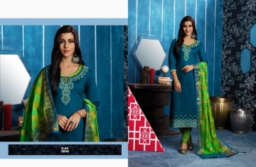 KESSI FABRICS ASOPALAV VOL-05 JAM SILK COTTON SALWAR SUITS WHOLESALE PRICE(6)JPG