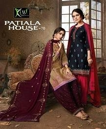 KESSI FABRICS PATIALA HOUSE VOL-70 COTTON SATIN WITH EMBROIDERY WORK SUITS WHOLESALE PRICE (01) JPG
