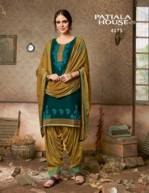 KESSI FABRICS PATIALA HOUSE VOL-70 COTTON SATIN WITH EMBROIDERY WORK SUITS WHOLESALE PRICE (13) JPG