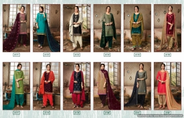 KESSI FABRICS PATIALA HOUSE VOL-70 COTTON SATIN WITH EMBROIDERY WORK SUITS WHOLESALE PRICE (14) JPG