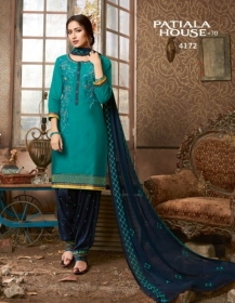 KESSI FABRICS PATIALA HOUSE VOL-70 COTTON SATIN WITH EMBROIDERY WORK SUITS WHOLESALE PRICE (06) JPG