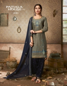 KESSI FABRICS PATIALA HOUSE VOL-70 COTTON SATIN WITH EMBROIDERY WORK SUITS WHOLESALE PRICE (07) JPG