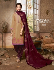 KESSI FABRICS PATIALA HOUSE VOL-70 COTTON SATIN WITH EMBROIDERY WORK SUITS WHOLESALE PRICE (08) JPG