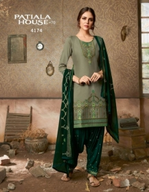 KESSI FABRICS PATIALA HOUSE VOL-70 COTTON SATIN WITH EMBROIDERY WORK SUITS WHOLESALE PRICE (09) JPG
