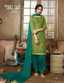 KESSI FABRICS PATIALA HOUSE VOL-70 COTTON SATIN WITH EMBROIDERY WORK SUITS WHOLESALE PRICE (12) JPG