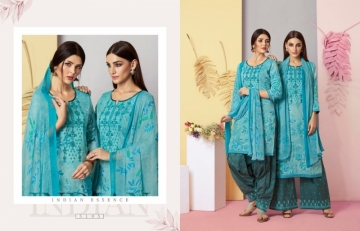 KESSI FABRICS RANGRITI COTTON PRINT WITH EMBROIDERY WORK SUITS (13) JPG