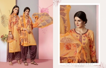 KESSI FABRICS RANGRITI COTTON PRINT WITH EMBROIDERY WORK SUITS (7) JPG