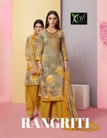 KESSI FABRICS RANGRITI COTTON PRINT WITH EMBROIDERY WORK SUITS (9) JPG