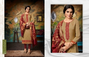 KESSI PARNEETA JAM SILK COTTON WITH FOIL PRINT WITH WORK SALWAR KAMEEZ  WHOLESALE PRICE (11)JPG