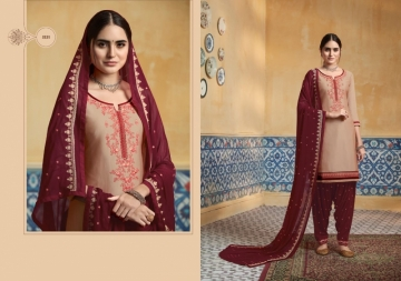 KESSI PATIYALA HOUSE VOL-74 PURE SATIN WITH EMBROIDERY WORK SUITS (11) JPG