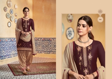 KESSI PATIYALA HOUSE VOL-74 PURE SATIN WITH EMBROIDERY WORK SUITS (4) JPG