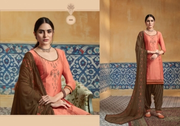 KESSI PATIYALA HOUSE VOL-74 PURE SATIN WITH EMBROIDERY WORK SUITS (5) JPG
