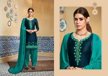 KESSI PATIYALA HOUSE VOL-74 PURE SATIN WITH EMBROIDERY WORK SUITS (6) JPG
