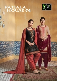 KESSI PATIYALA HOUSE VOL-74 PURE SATIN WITH EMBROIDERY WORK SUITS (9) JPG