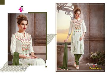 KHWAISH AYESHA COTTON MATERIAL EMBROIDERED SUITS WHOLESALE PRICE (1)JPG