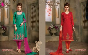 KHWAISH HOLLYWOOD COTTON MATERIAL SALWAR SUITS WHOLESALE PRICE (1)JPG