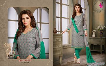 KHWAISH HOLLYWOOD COTTON MATERIAL SALWAR SUITS WHOLESALE PRICE (3)JPG