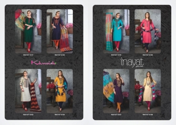 KHWAISH INAYAT GIAZE COTTON DESIGNER SALWAR SUITS   WHOLESALE PRICE (10)JPG