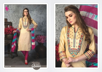 KHWAISH INAYAT GIAZE COTTON DESIGNER SALWAR SUITS   WHOLESALE PRICE (2)JPG