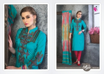 KHWAISH INAYAT GIAZE COTTON DESIGNER SALWAR SUITS   WHOLESALE PRICE (5)JPG