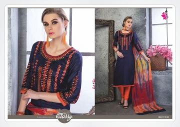 KHWAISH INAYAT GIAZE COTTON DESIGNER SALWAR SUITS   WHOLESALE PRICE (8)JPG