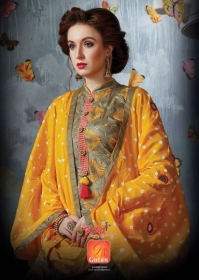 KITY CREATION SAJAN VOL 10 SATIN JACAKRD EMBROIDED DESIGNER SUITS WHOLESALE PRICE(7)JPG