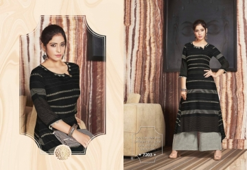 KRISHRIYAA FLAUNT COTTON KURTIS WITH PALAZZO WHOLESALE PRICE (5) JPG