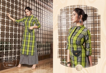KRISHRIYAA FLAUNT COTTON KURTIS WITH PALAZZO WHOLESALE PRICE (8) JPG