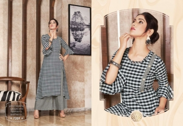 KRISHRIYAA FLAUNT COTTON KURTIS WITH PALAZZO WHOLESALE PRICE (9) JPG