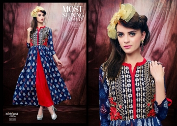 KRISHRIYAA ICONIC PURE VISCOSE KURTIS WHOLESALE SUPPLIER (5) JPG