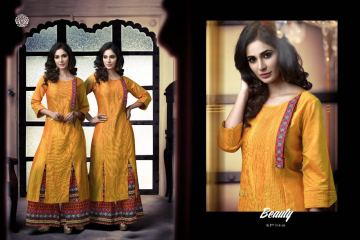 KRISHRIYAA SILK AFFAIR VOL 4 KURTI WITH PALAZZO CATALOG WHOLESALE SUPPLIER SURAT (4) JPG
