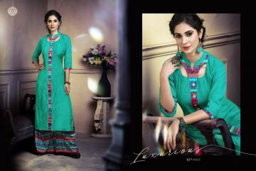 KRISHRIYAA SILK AFFAIR VOL 4 KURTI WITH PALAZZO CATALOG WHOLESALE SUPPLIER SURAT (5) JPG