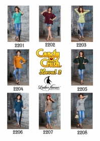 LADIES FLAVOUR CANDY CRUSH VOL-2 RAYON FANCY STYLISH TOP WHOLESALE PRICE(16)JPG