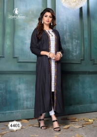 LADIES FLAVOUR LIFE STYLE SOUTH COTTON STRIPES STYLE LONG KURTIS WHOLESALE PRICE(2)JPG