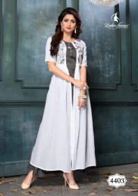 LADIES FLAVOUR LIFE STYLE SOUTH COTTON STRIPES STYLE LONG KURTIS WHOLESALE PRICE(3)JPG