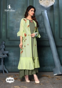 LADIES FLAVOUR LIFE STYLE SOUTH COTTON STRIPES STYLE LONG KURTIS WHOLESALE PRICE(7)JPG