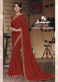 LAXMIPATI SAREES BOLLYWOOD CAFE CHIFFON GEORGETTE SAREE WHOLESALE SUPPLIER SURAT(19)JPG