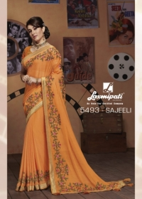 LAXMIPATI SAREES BOLLYWOOD CAFE CHIFFON GEORGETTE SAREE WHOLESALE SUPPLIER SURAT(12)JPG