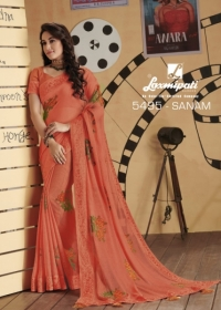 LAXMIPATI SAREES BOLLYWOOD CAFE CHIFFON GEORGETTE SAREE WHOLESALE SUPPLIER SURAT(16)JPG