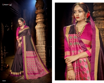 LIFESTYLE CELEBRATION MATKA SILK PARTY WEAR SAREES WHOLESALE SUPPLIER SURAT(2)JPG