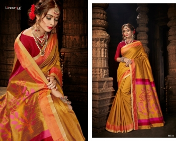 LIFESTYLE CELEBRATION MATKA SILK PARTY WEAR SAREES WHOLESALE SUPPLIER SURAT(8)JPG