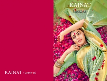 LIFESTYLE KAINAT HEAVY SILK TRADITIONAL FANCY SAREE WHOLESALE PRICE(01)JPG