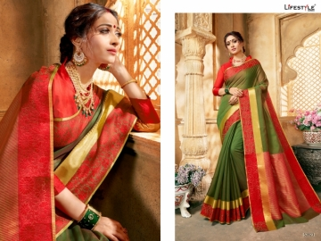 LIFESTYLE KHADI SILK VOL -16 COTTON SILK SAREES WHOLESALE SUPPLIER SURAT(2)JPG