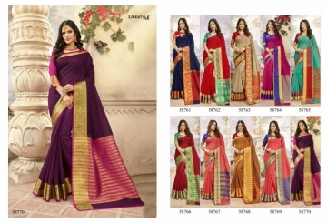 Lifestyle-Present-Khadi-Silk-Vol-19-Weaving-Silk-Super-Hit-Saree-Collection-11