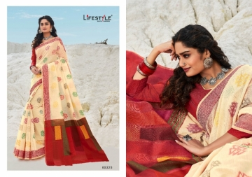 LIFESTYLE PRESENTS MOKSHA VOL-2 CHANDERI FANCY RICH PALLU SAREES (6) JPG