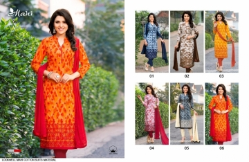 LOOKWELL PRESENTS MAHI COTTON PRINTED SUITS WITH DUPATTA WHOLESALE PRICE (2) JPG